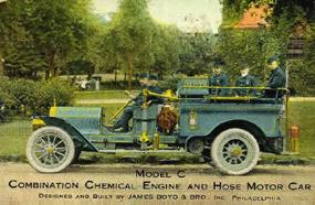 James Boyd and Brother Inc., Manufacturer of Fire Apparatus, Philadelphia