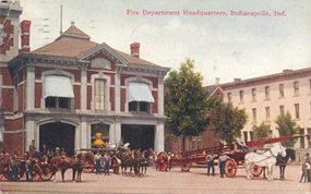 Fire Department Headquarters, Indianapolis, Ind.